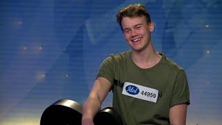 15-åriga William Segerdahl golvar juryn i Idol 2018  - Idol Sverige (TV4)