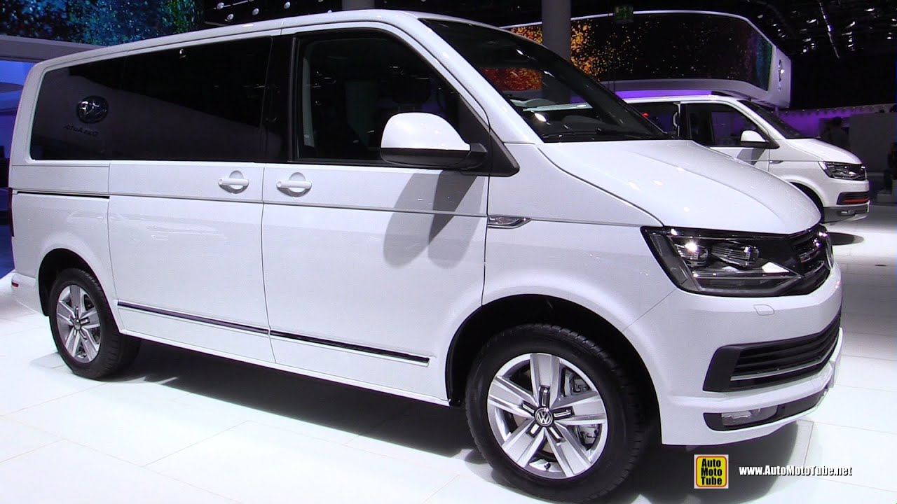 2016 volkswagen caravelle tdi 4motion - exterior and interior