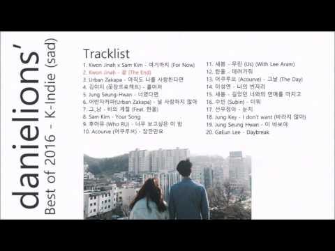 ♫ danielions' Best of 2016 - K-Indie (sad)