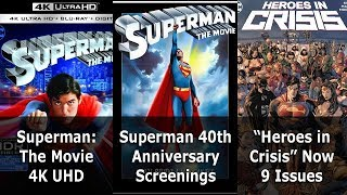 """Superman: The Movie"" 4K Ultra HD - Speeding Bulletin (September 19-25, 2018)"
