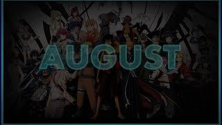 ► Top 20 | Anime Opening Charts | Month (August) | (HD)