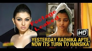 Hansika Bathroom Footage Leaked..!!  | Goes Viral 2015
