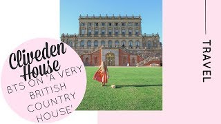 BTS of A Very British Country House filmed at Cliveden House with Channel 4