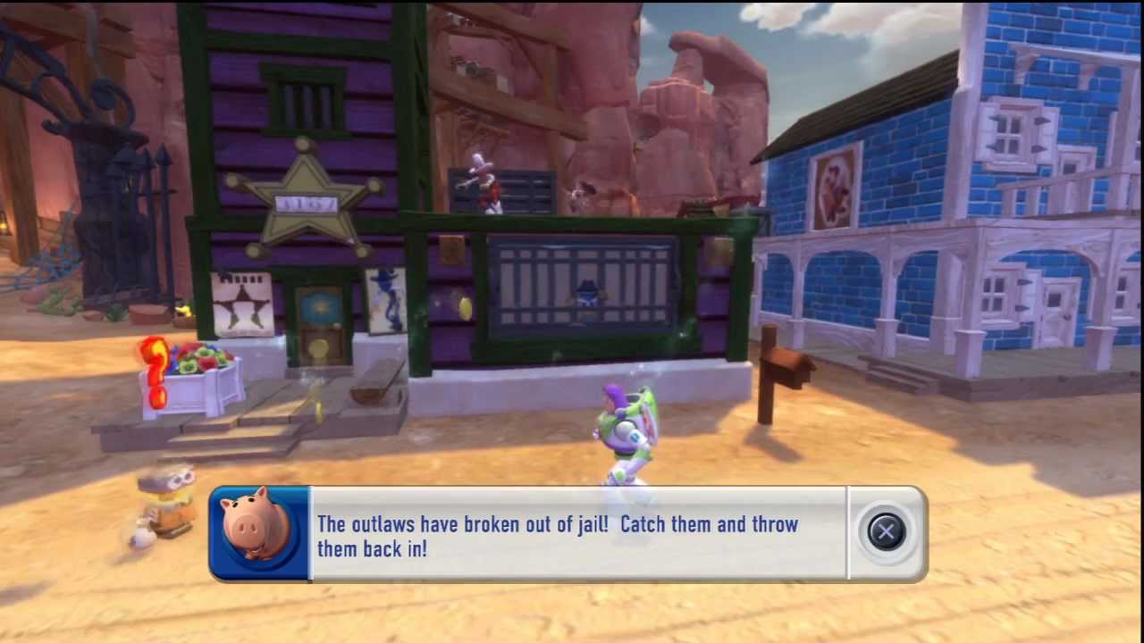 All Toy Story 3 Games : Toy story game box mode part youtube