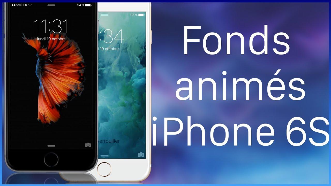 Top Les fonds d'écrans animés de l'iPhone 6S pour tous ! [TUTO] - YouTube TK44