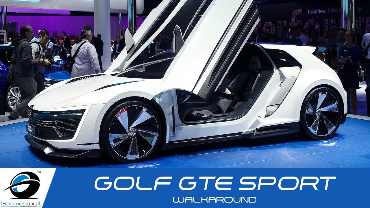 Volkswagen Golf Gte Sport Walkaround
