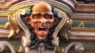 212 CABECEIRAS DE BASTO   Interior do Mosteiro S.  Miguel - Música António Teixeira