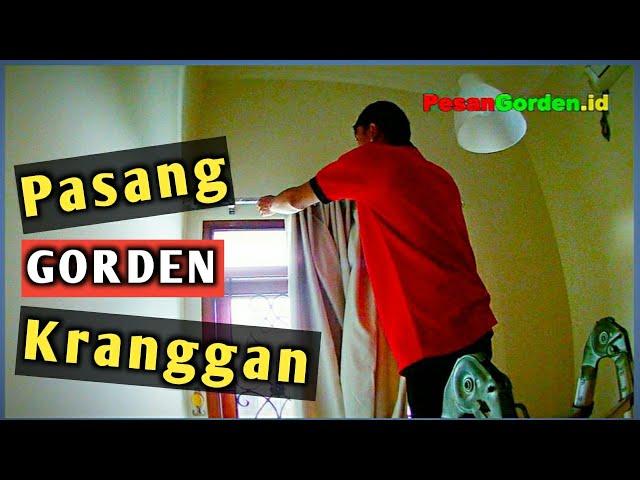 Pasang Gorden Minimalis Di Kranggan Jakarta Timur 082310989451 @Gudang Gorden   #gordenminimalis