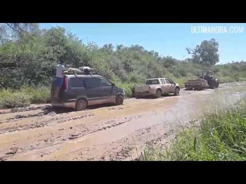 Mal estado del camino en el Chaco - Ultimahoracom