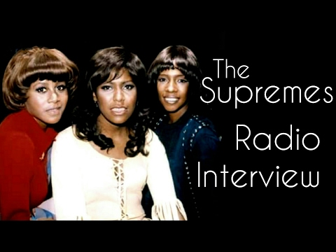 The Supremes - Unknown Radio Interview '71