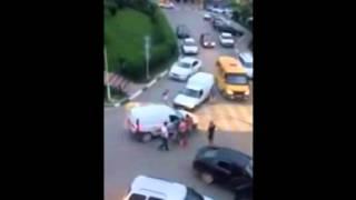 'Лексус' vs 'Пирожок', Архипо-Осиповка