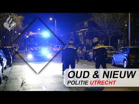POLITIE | VUURWERK | OUD & NIEUW | BRAND | AUTOBRAND | UTRECHT | INBRAAK | VUURWAPEN