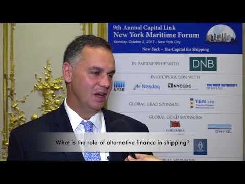 2017 9th Annual New York Maritime Forum - Mr. Michael Timpone Interview