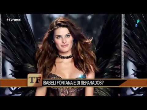Isabeli Fontana explica por que não vive junto com marido Di Ferrero