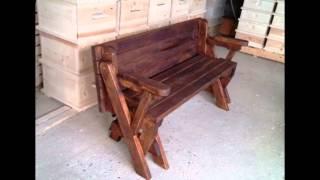 мултифункционална пейка - бирен комплект (compact Folding Picnic Table)