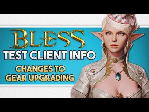 Bless Online News | Test Server Dates & Download | New Gear Upgrade Features (KR)