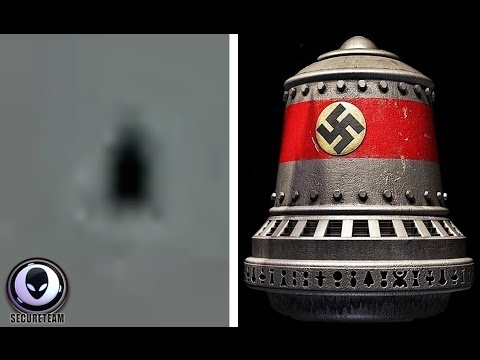 NAZI Bell-Shaped UFO Caught By Fisherman Over Lake In Turkey! 8/11/2015