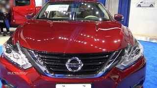 2018 Nissan Altima 2.5L Sedan - Exterior And Interior Walkaround- Albany Auto Show 2017