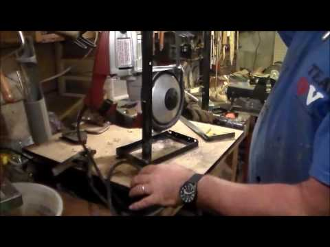 harbor freight bandsaw stand. harbor freight portable band saw stand bandsaw