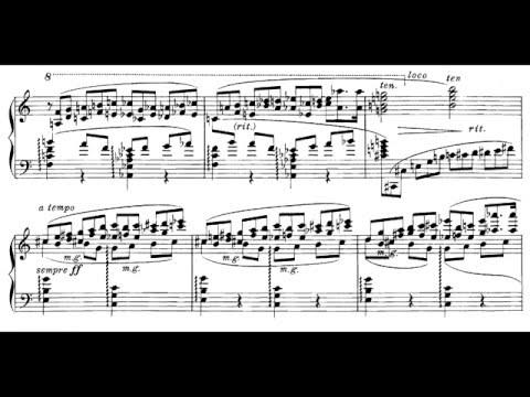 Karol Szymanowski ‒ 4 Etudes, Op.4