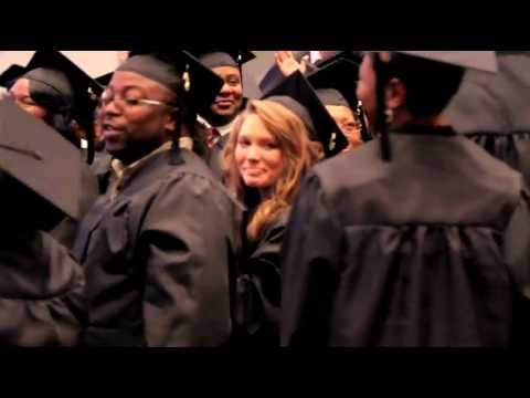 Kristen Crockett featured in a Victory University commercial
