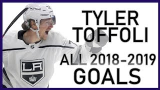 Tyler Toffoli All Goals From The 2018-19 Season