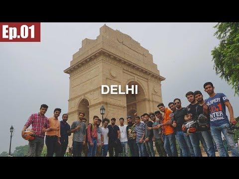 Mumbai to Delhi | Subscribers Meetup || Ladakh Trip 2017 ~Ep.01