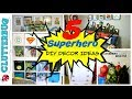 5 Easy Superhero DIY Room Decor Ideas and How To's