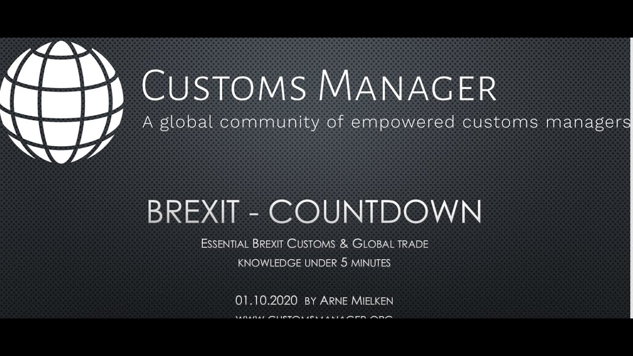 Brexit Countdown: Key changes in under 10 minutes