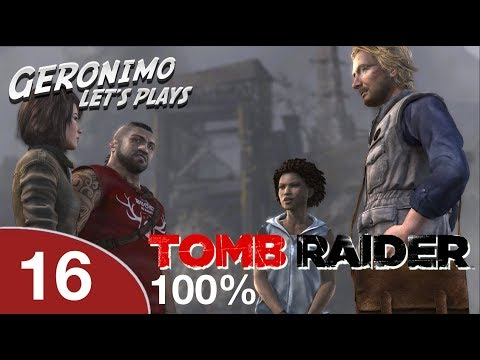 TOMB RAIDER PS4 | E16: Shipwreck Beach Part 1, Challenges Completed | Hard Walkthrough 1080p 60fps