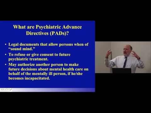 Psychiatric Advance Directives MarvinSwartz