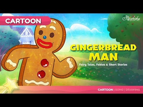 The Gingerbread Man Kids Story | Bedtime Stories for Kids