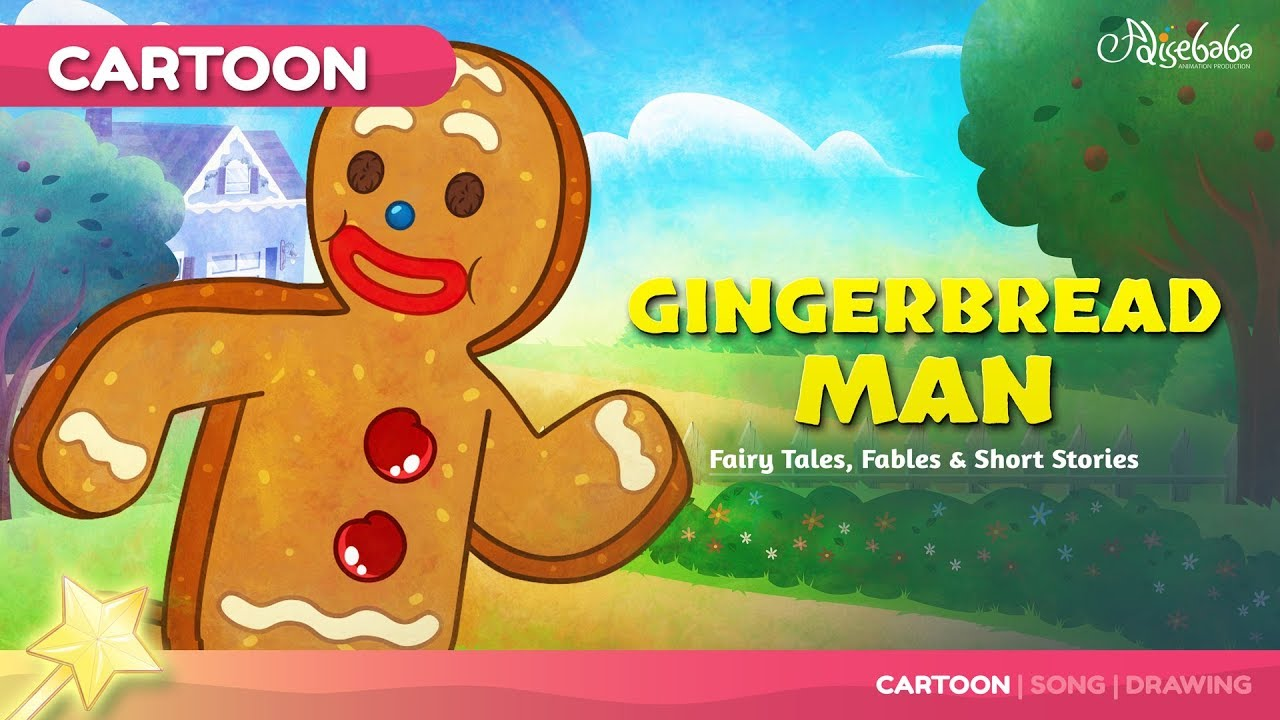 The Gingerbread Man Fairy Tales and Bedtime Stories for Kids in English