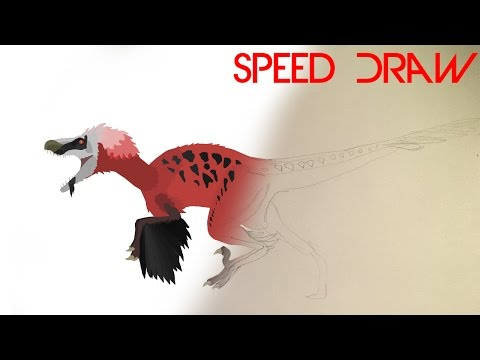 Dakotaraptor - Speed Draw on Pivot