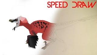 Dakotaraptor - Speed Draw on Pivot