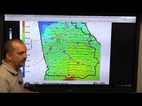 NWS Atlanta Hurricane Irma Briefing 09/09/2017