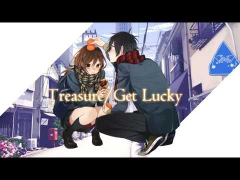 Treasure /Get Lucky MASHUP! nightcore