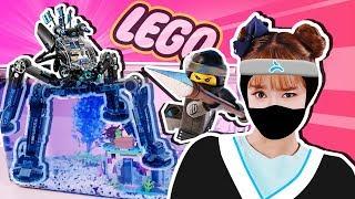 닌자로 변신!!! LEGO 레고 닌자고 무비 니야의 워터스트라이더
