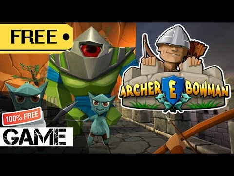 Archer E Bowman Gear VR - Gameplay (Rating 8.5) *Free Game*