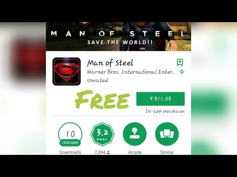 How To Download Free | Man Of Steel | Game In | Android Phone |