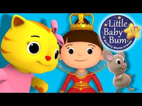 Pussy Cat Pussy Cat  Nursery Rhymes   LittleBaBum!