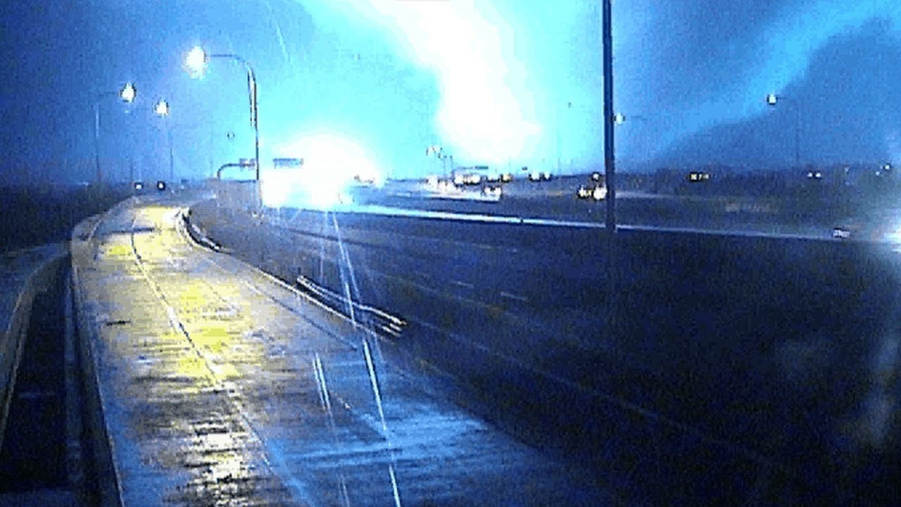 Caught on Camera: Garland tornado seen from traffic cameras