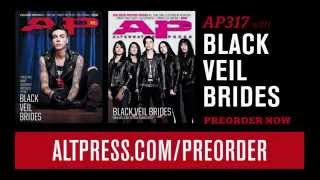 Black Veil Brides on the cover of AP 317