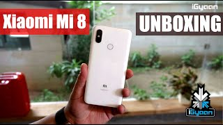 Xiaomi Mi 8 Unboxing : Beautiful and Restricted