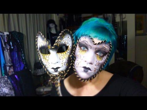 Mysdesign Halloween Masquerade Mask Timelapse Tutorial