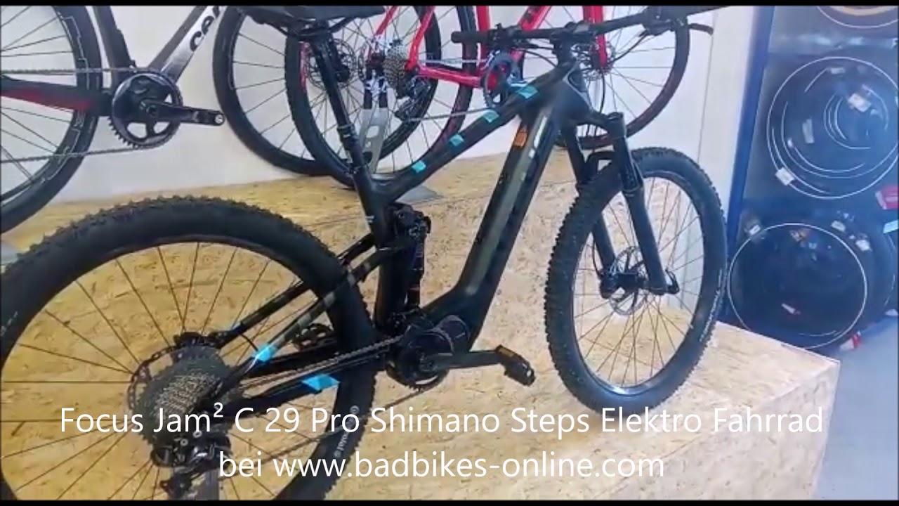 94a8693a98de86 Focus Jam² C 29 Pro Shimano Steps Elektro Fahrrad 2018 - YouTube
