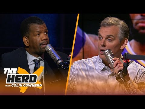 Rob Parker talks NFL Playoffs, Jim Harbaugh's future & how Paul George impacted Lakers | THE HERD