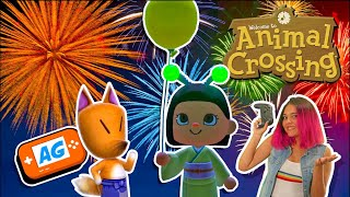 Como hacer Fuegos Artificiales en Animal Crossing NEW Horizons en Español