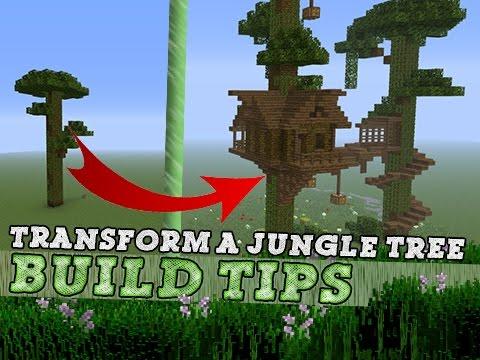 Minecraft TREE HOUSE Build Tips & Ideas! YouTube