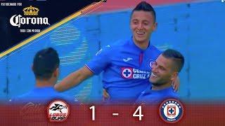 Resumen: Lobos BUAP 1 - 4 Cruz Azul | Clausura 2019 - J16 | Presentado por Corona